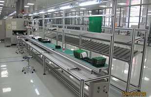 西子奥的斯电梯配件装配生产线