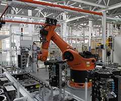 机器人生产线