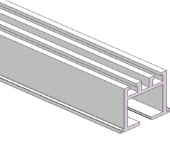 JL555隔断铝型材