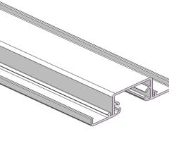 JL386隔断铝型材