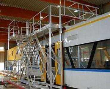 工业扶梯踏步走台系统是什么