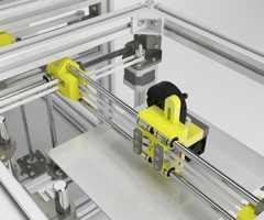 3D打印铝合金设备框架设计