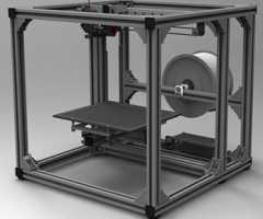 铝合金型材3D打印机框架