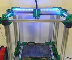 铝合金框架3D支架