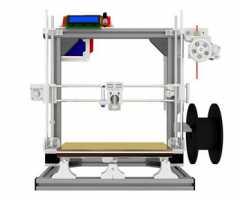 铝合金3D设备组装